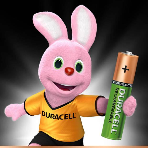 Duracell Plus AAA oplaadbare batterijen - 4 stuks