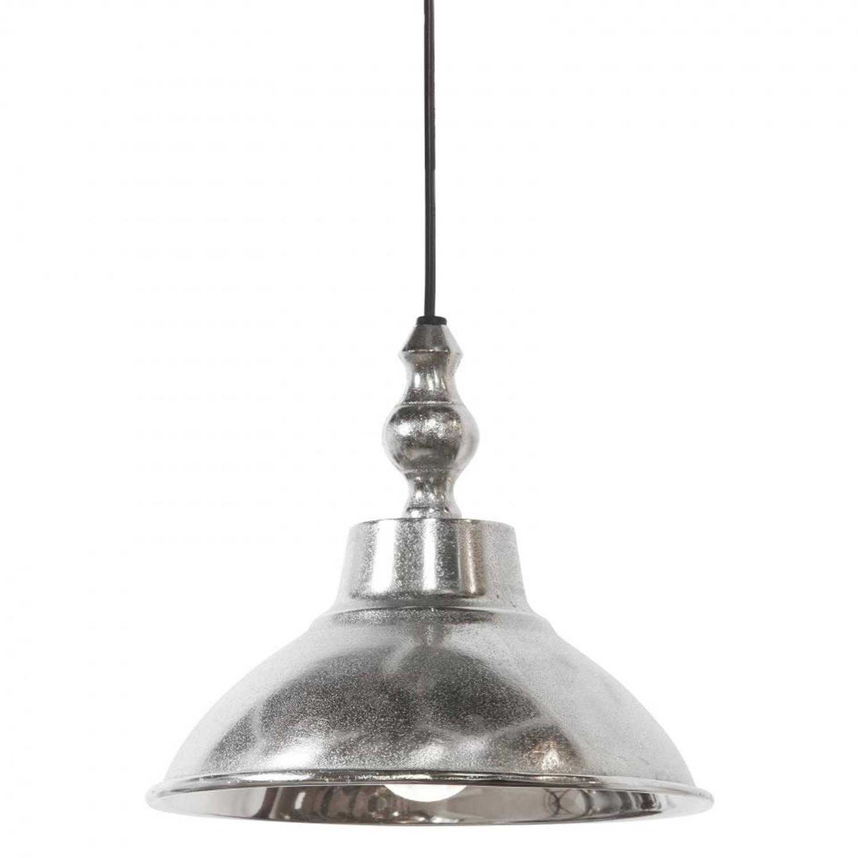 Light & Living Aniek hanglamp - ruw nikkel - Ø21 cm