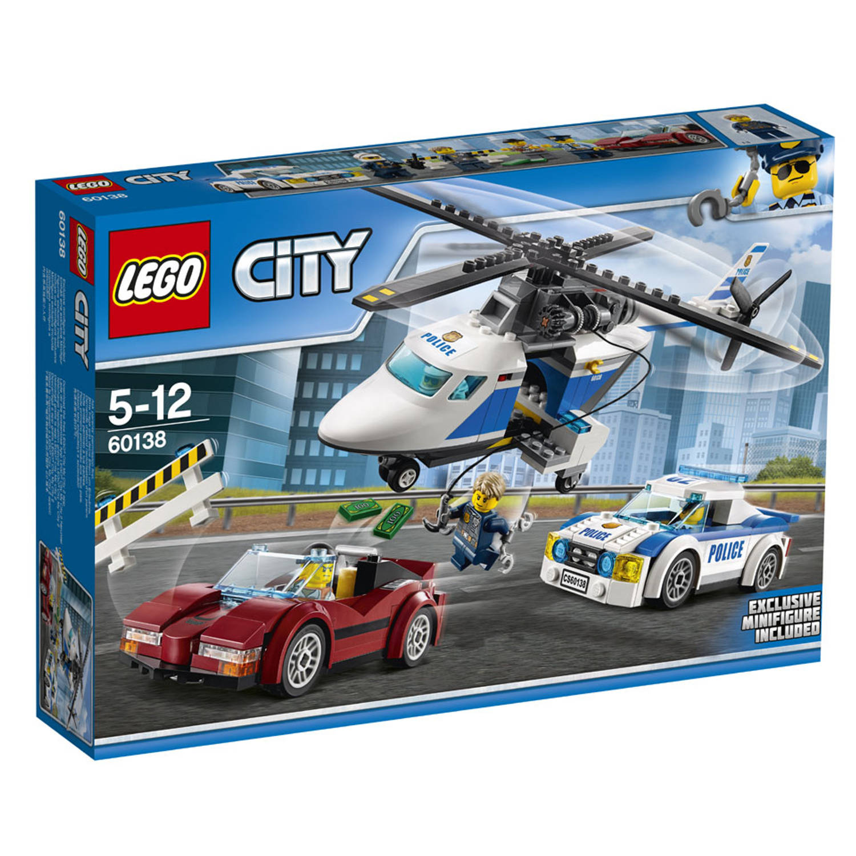 Image of LEGO City snelle achtervolging 60138