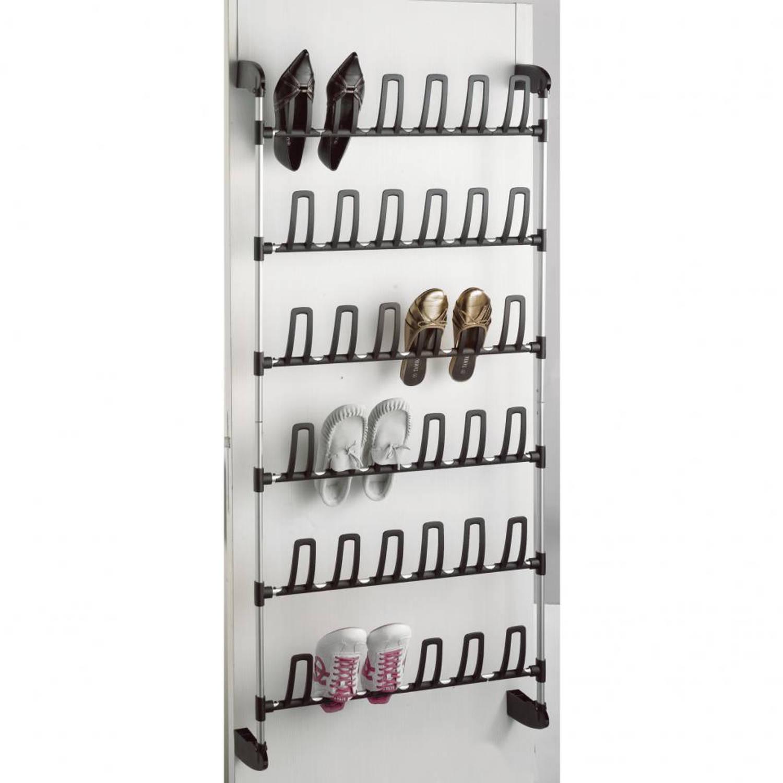 Compactor over-de deur schoenenrekje 18 paar schoenen