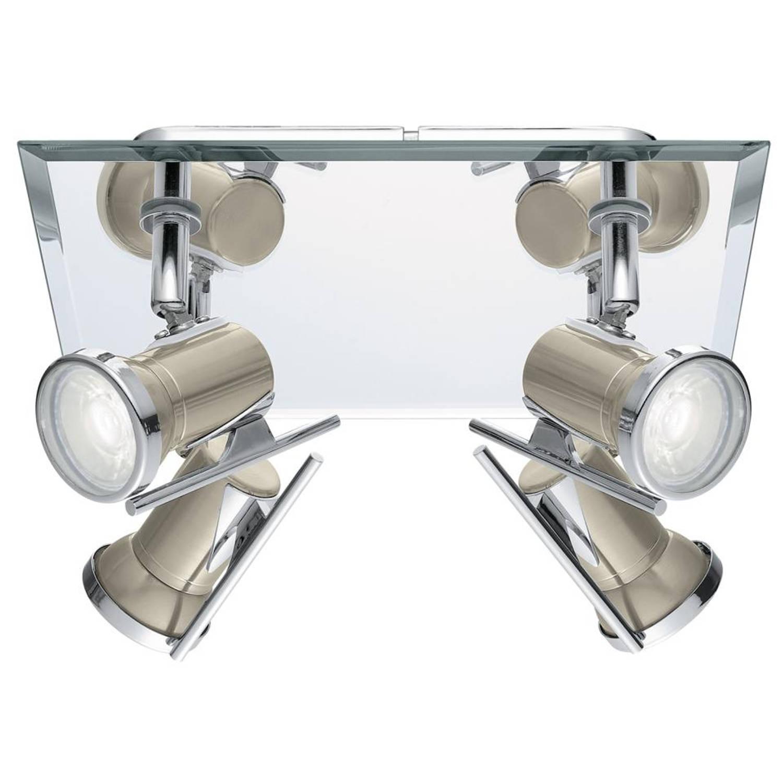 Eglo Tamara spot - 4 lichten - chroom