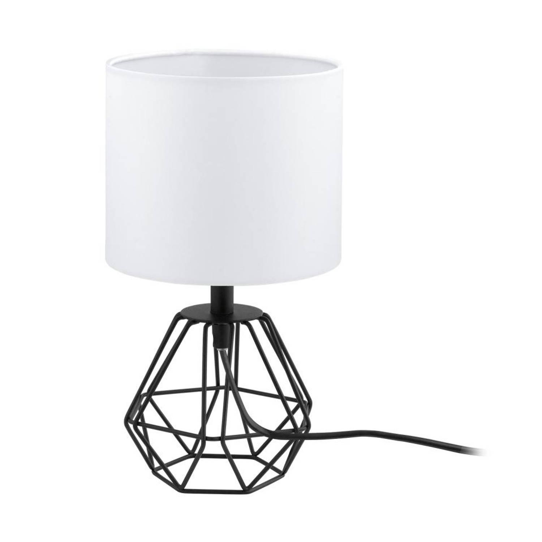 EGLO Carlton 2 tafellamp - zwart/wit