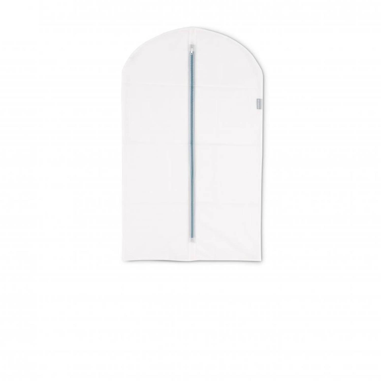 Brabantia kledinghoes M 60x100 cm - Transparant met White - Set van 2