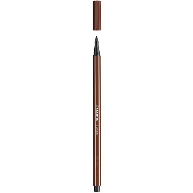Korting Stabilo Pen 68 45 Bruin