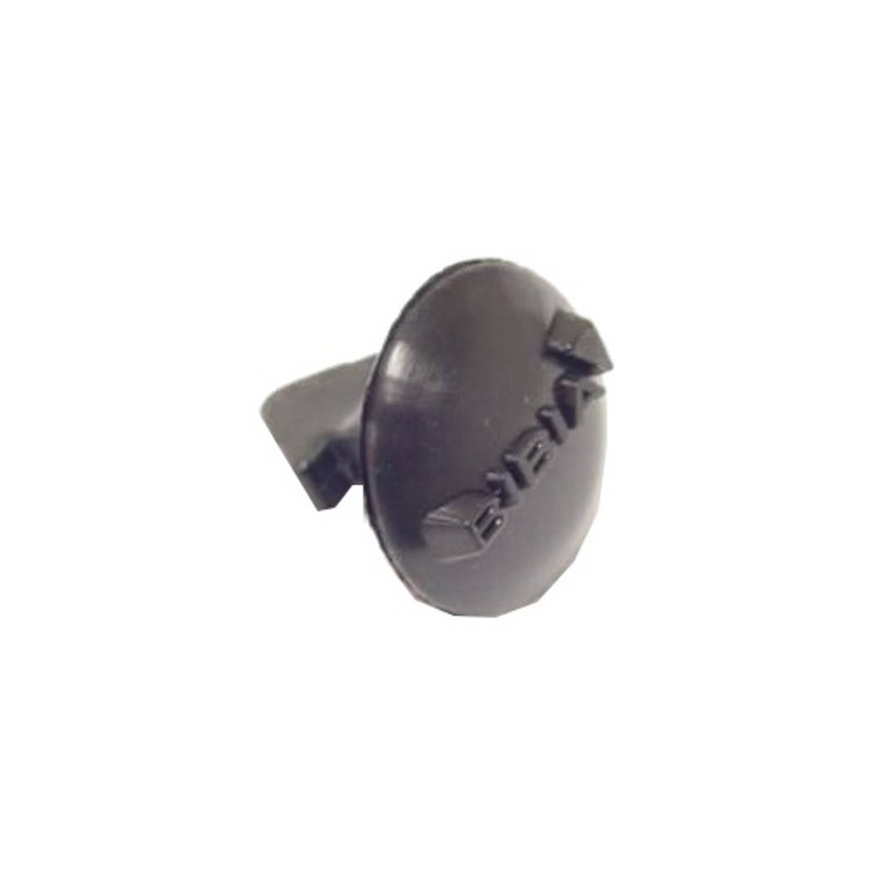 Korting Bibia Bevestigingsknop Voor Snelbinder 19 Mm Zwart Per Stuk