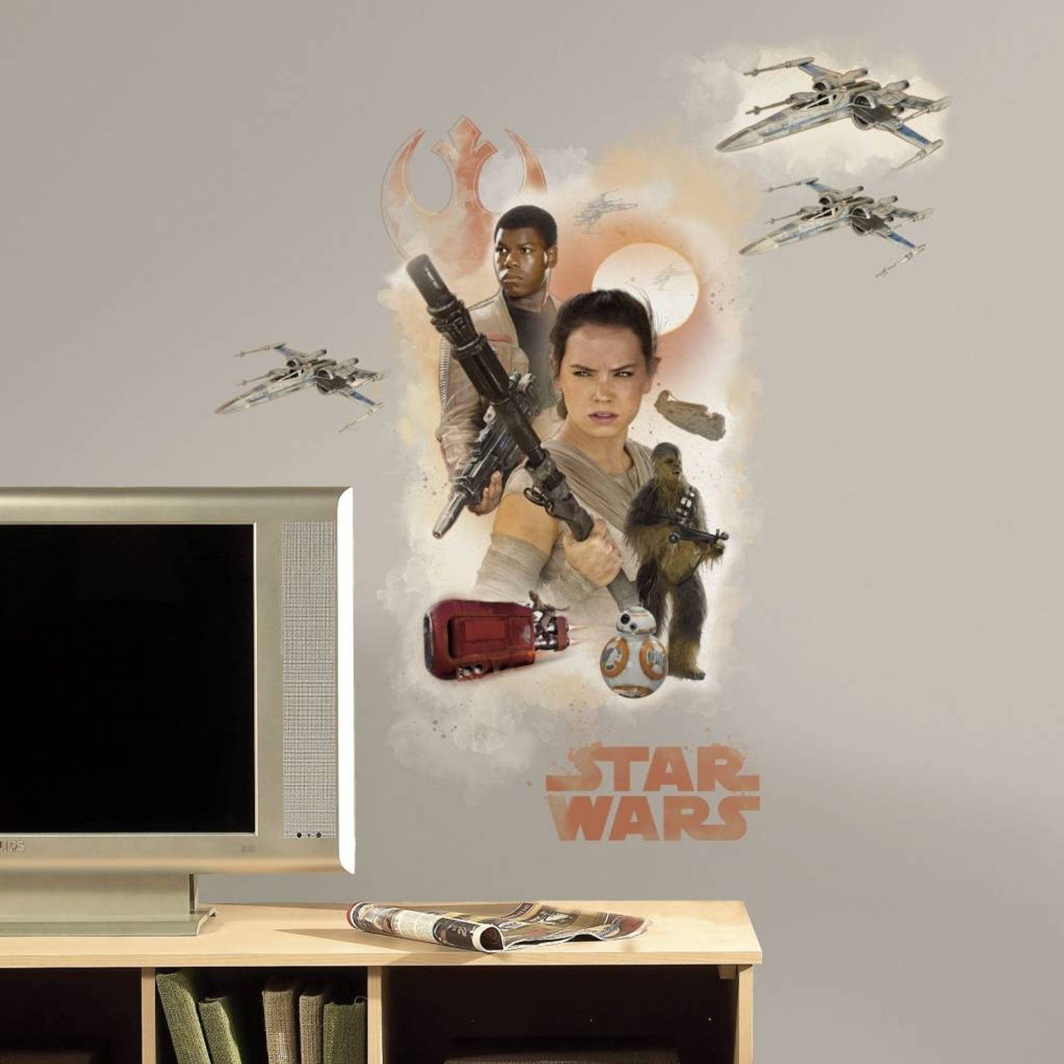Disney Star Wars Muursticker VII: Hero