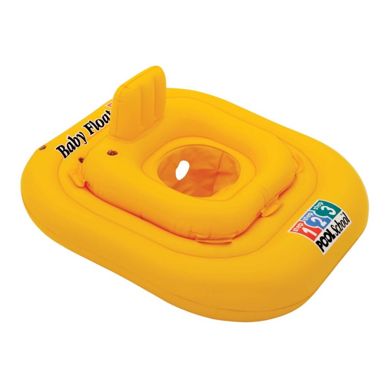 Baby Zwemband Deluxe Geel 79 X 79 Cm