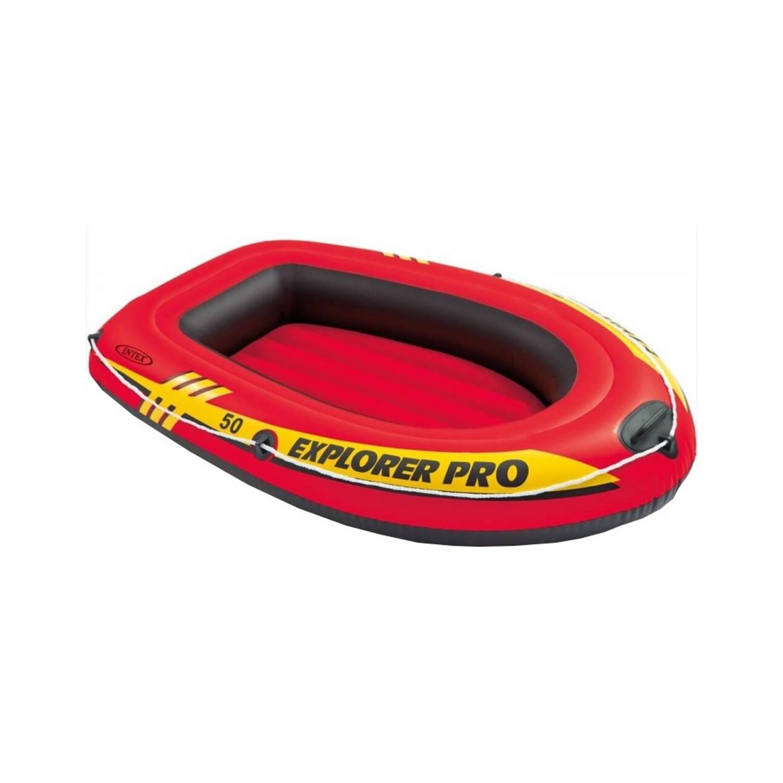 Intex opblaasboot Explorer Pro 50 rood 137 x 85 x 23 cm