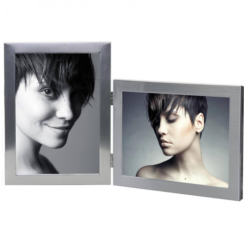 Henzo Base Metal fotolijst - 2 x 10 x 15 cm - zilverkleurig