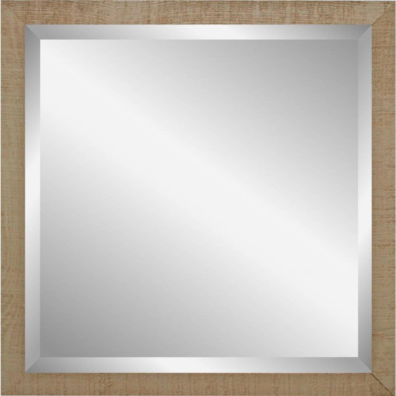 Henzo Driftwood spiegel - 40 x 40 cm - beige