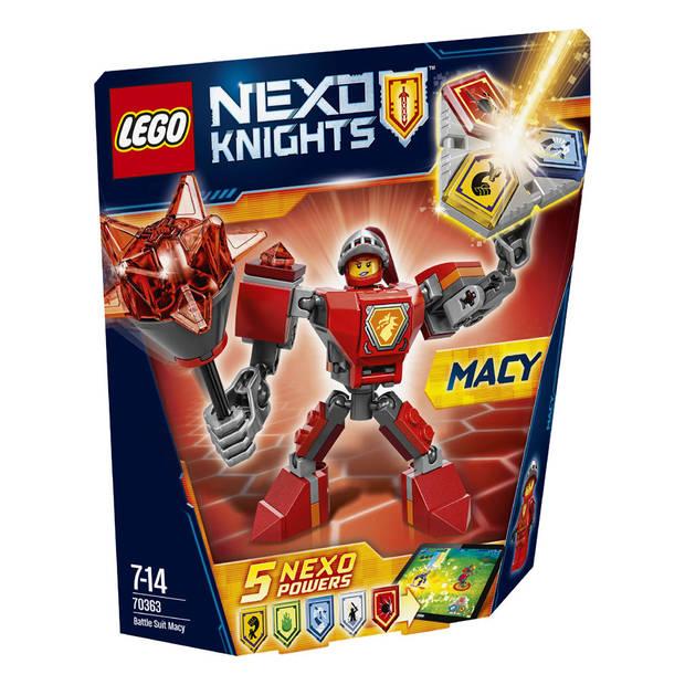 LEGO Nexo Knights Strijdharnas Macy 70363