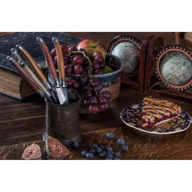 Laguiole Style de Vie Premium Line steakmessen Copper Mix AS - 6 stuks