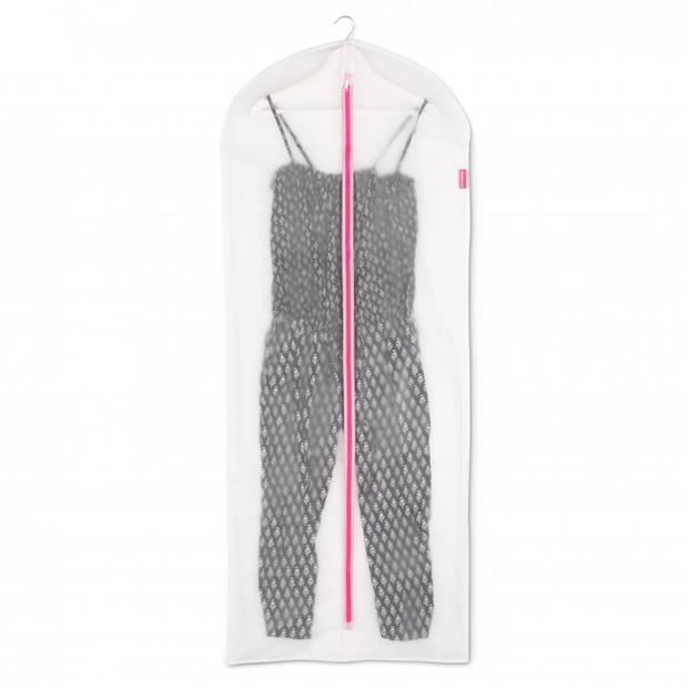 Brabantia kledinghoes XL 60x150 cm - Transparant met Pink - Set van 2