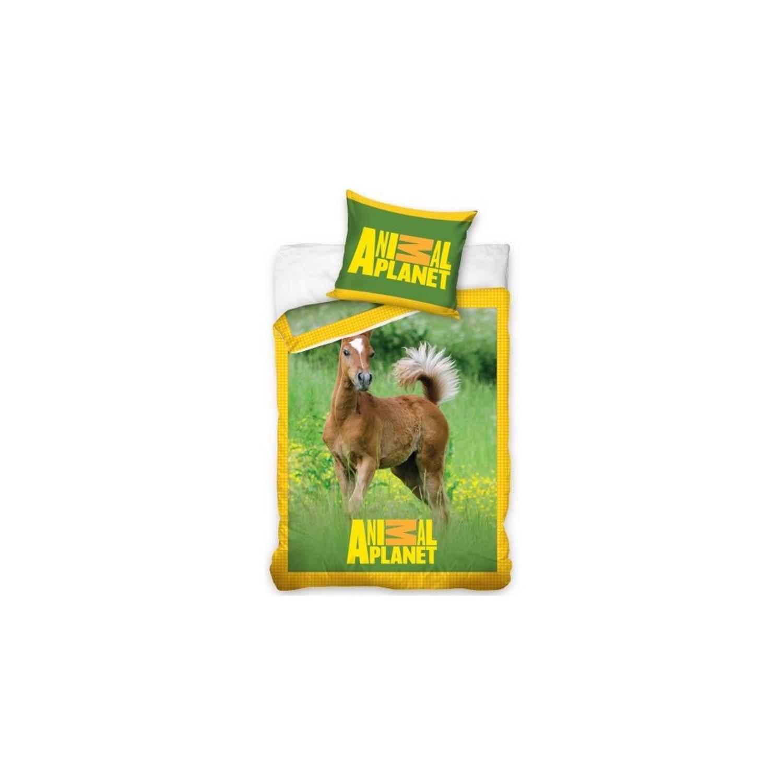 Afbeelding van dekbedovertrek paard 140 x 200 cm
