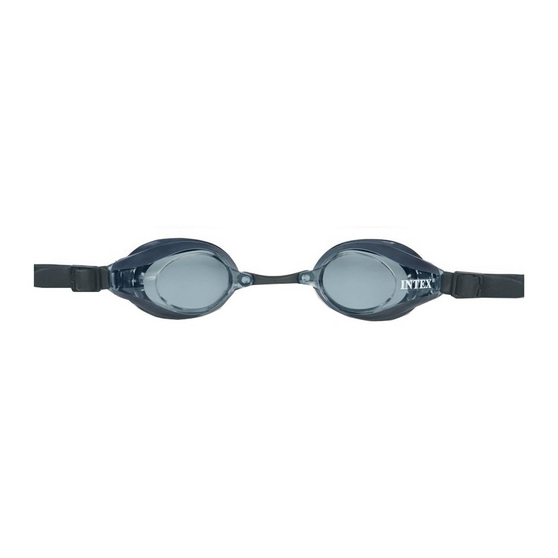 Intex Zwembril Pro Racing zwart