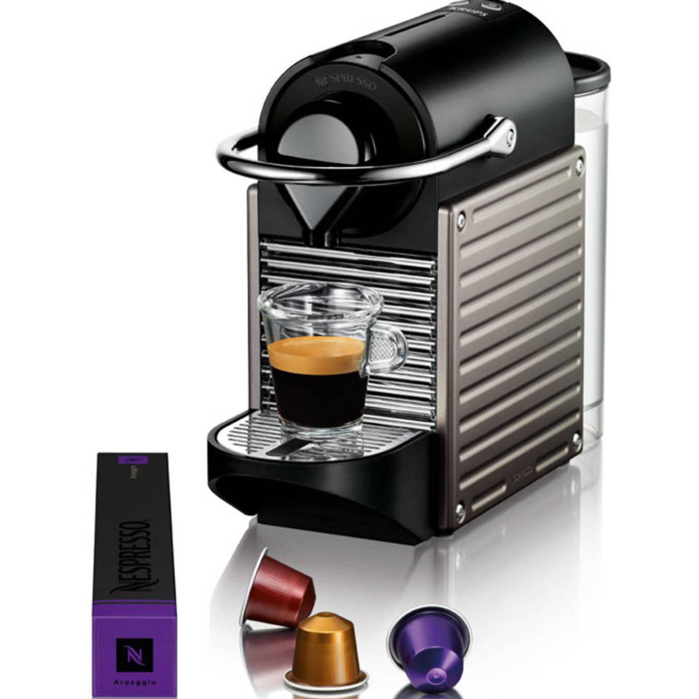 Nespresso Krups Pixie Titanium