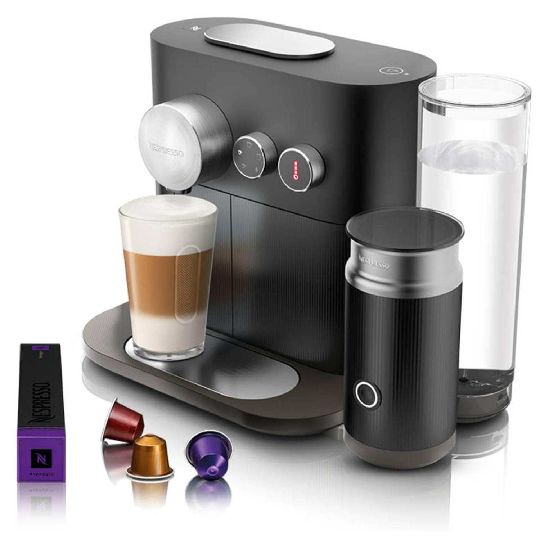 Nespresso Krups Expert & Milk Black