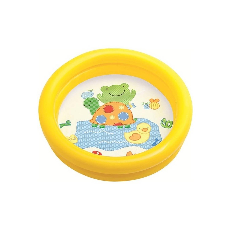 Intex Opblaasbaar Babybadje Geel 61 Cm X 15 Cm Blokker