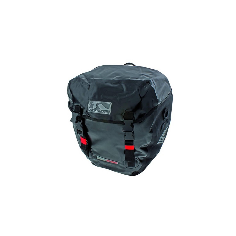 M-Wave pakaftassen Montreal 40 liter zwart