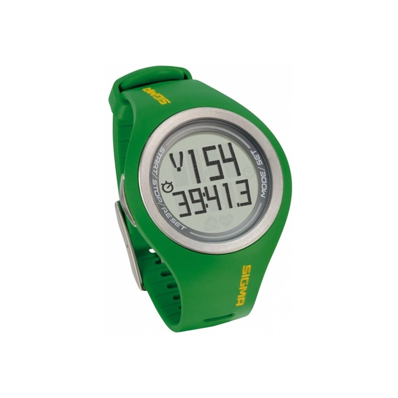 Sigma Sports Pc 22.13 Man Horloge Hartslagmeter Groen Stuk