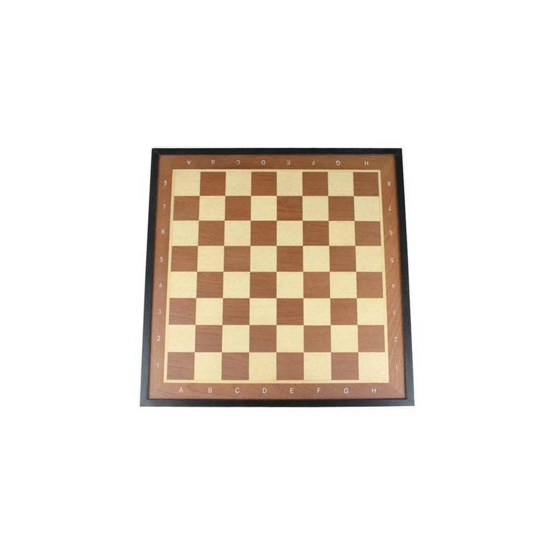 Afbeelding van Abbey Game schaakbord met rand deluxe