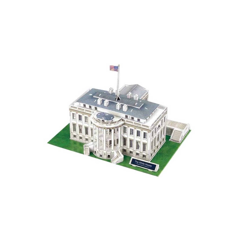 Cubic Fun 3D Puzzel White House 64-delig