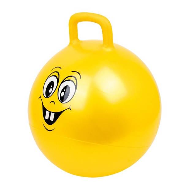 Small Foot Skippybal smiley geel 45 cm