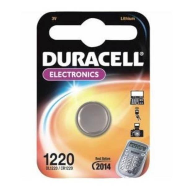 Duracell batterij DL1220/ CR1220 3V lithium per stuk