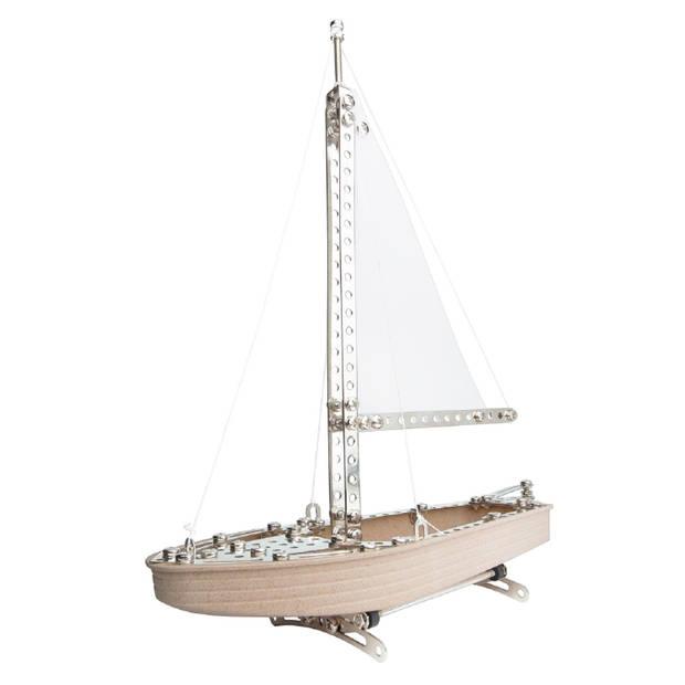 Eitech constructieset zeilboot 35 x 29 x 5 cm beige 292-delig
