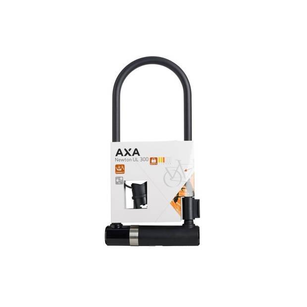 AXA U-Slot Newton UL-300 300 x 14 mm zwart