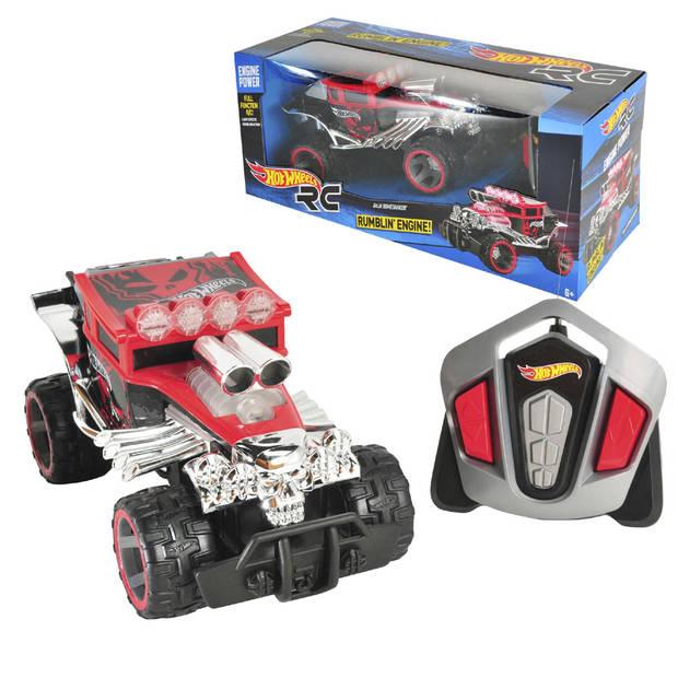 Hot Wheels op afstand bestuurbare auto Bajo Bone Shaker