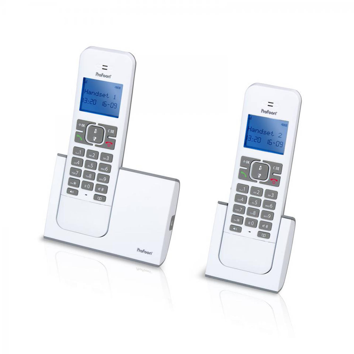 Profoon DECT PDX-8420 WT/GS