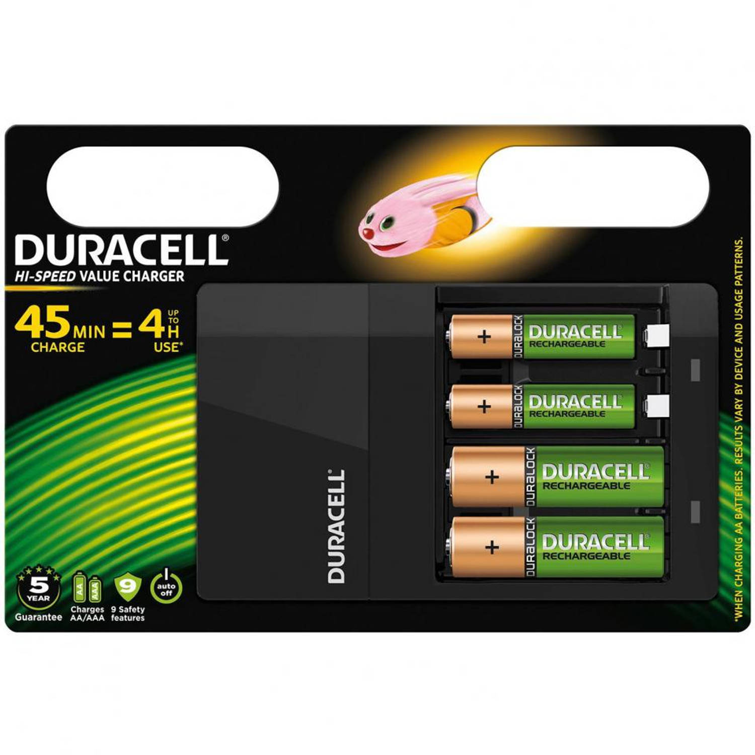 Duracell CEF 14 oplader