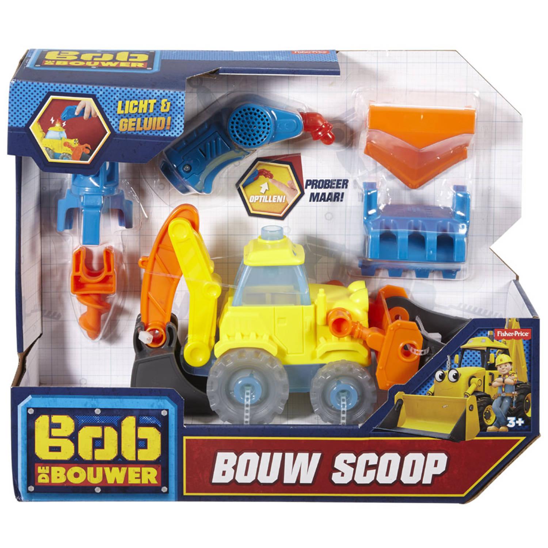 Fisher-Price Bob de Bouwer bouwvoertuig Scoop