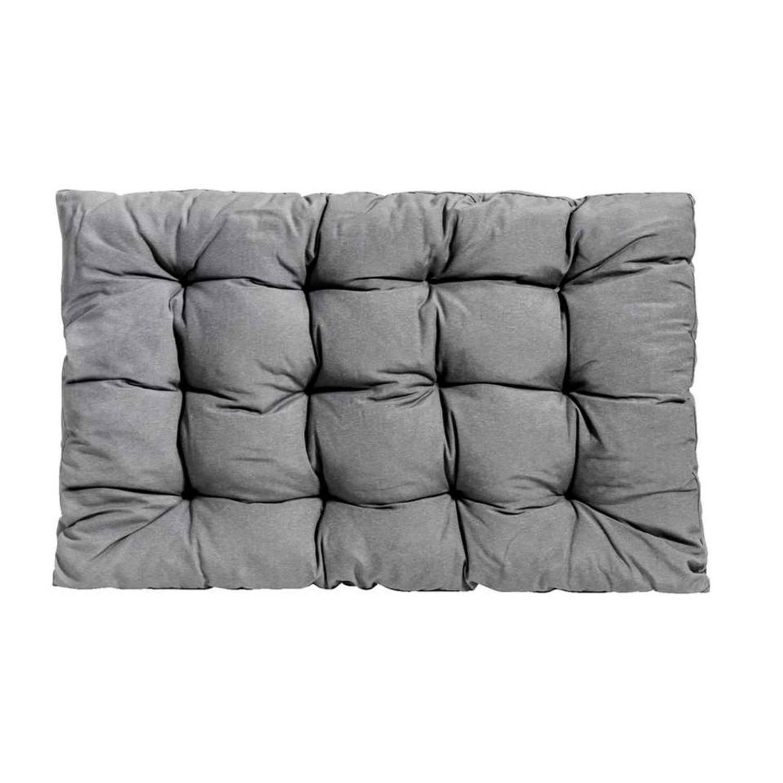 Loungekussen Florence grijs 120x80 cm
