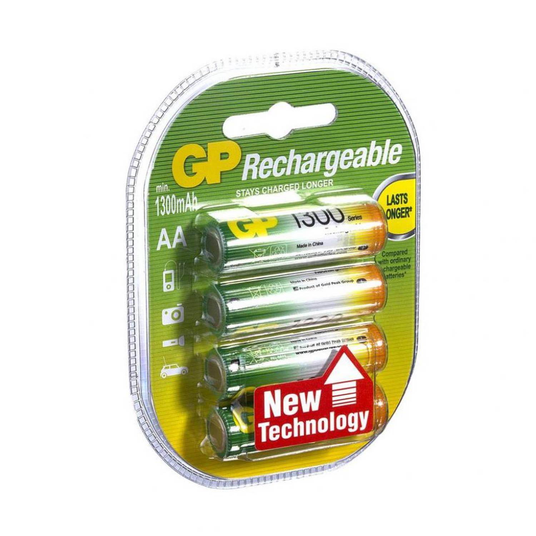 GP oplaadbare batterij AA - set van 4