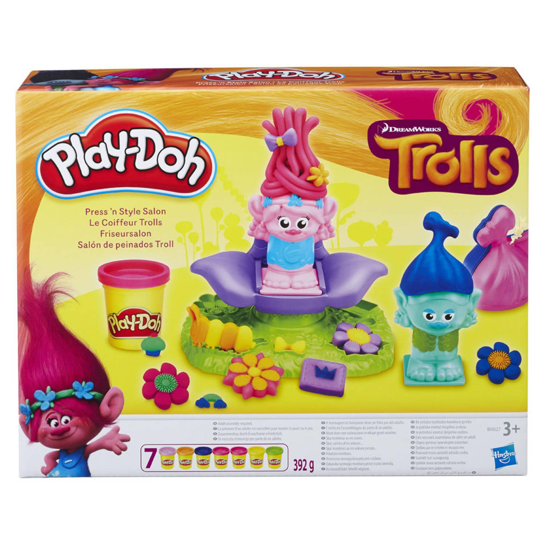 Play-Doh Compound & Tools Trolls kapsalon