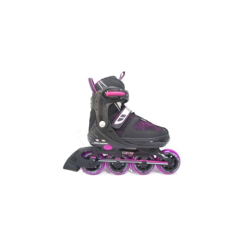 14222df3b07 Inline Skates Urban Meisjes Verstelbaar zwart maat 37/40 | Blokker