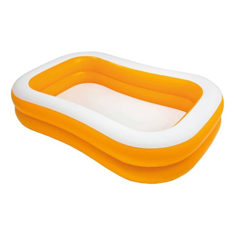 Intex Mandarin zwembad 229 x 147 x 46 cm