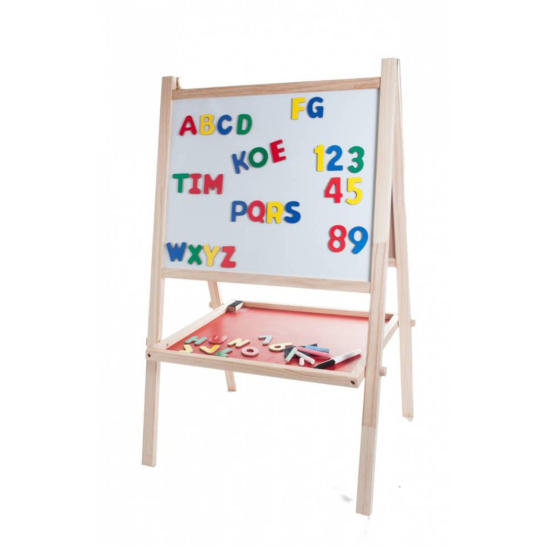 Afbeelding van Angel Toys schoolbord & krijtbord - inclusief magneten