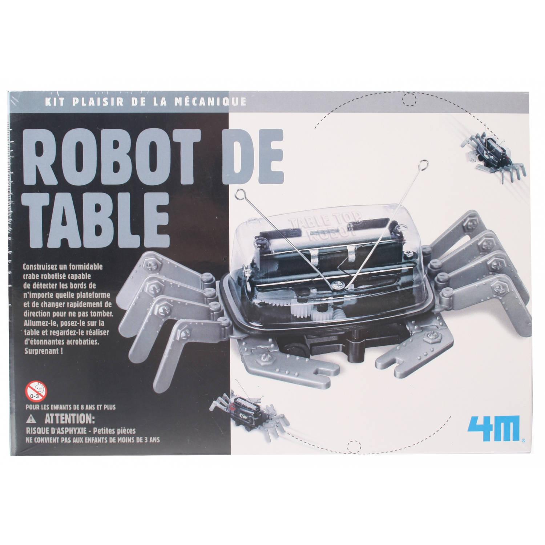 Afbeelding van 4M Fun Mechanics Kit tafelblad robot 23-delig