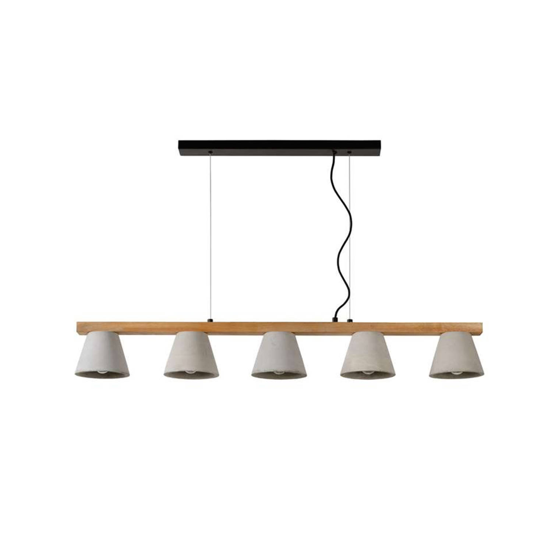 Lucide hanglamp Possio - cementkleur