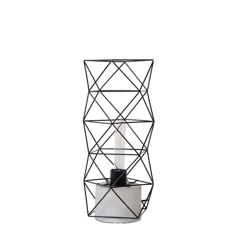 Lucide tafellamp Rumnico - zwart