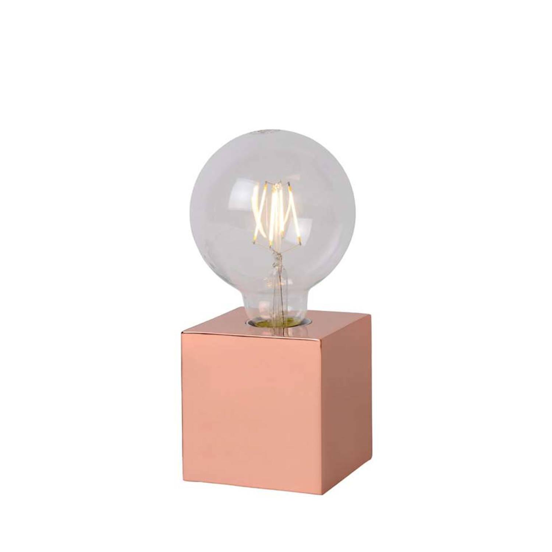 Korting Lucide Tafellamp Cubico Koper