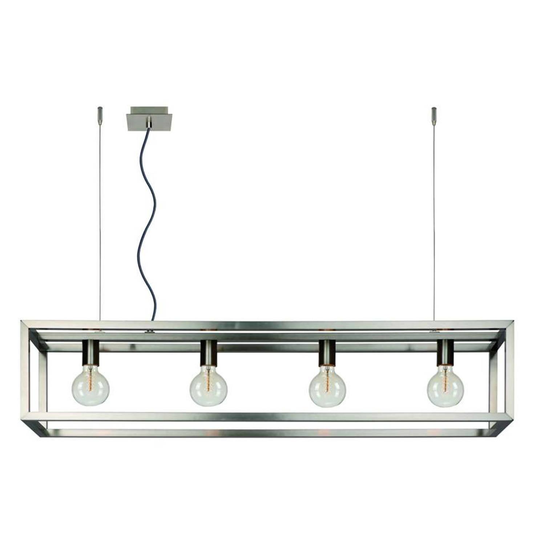 Lucide hanglamp Oris - mat chroom