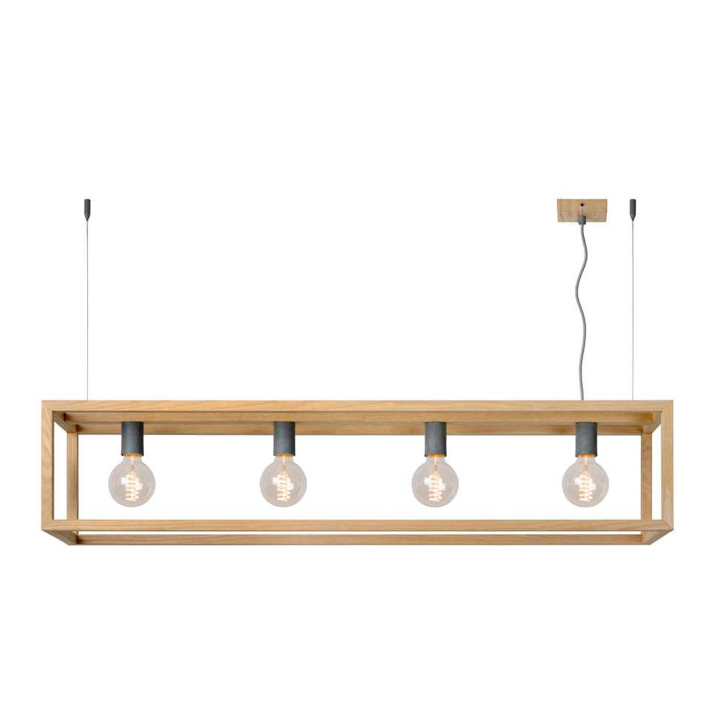 Lucide hanglamp Oris - bruin