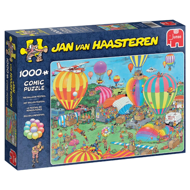 Korting Jan Van Haasteren Puzzel Het Ballonfestival 1000 Stukjes