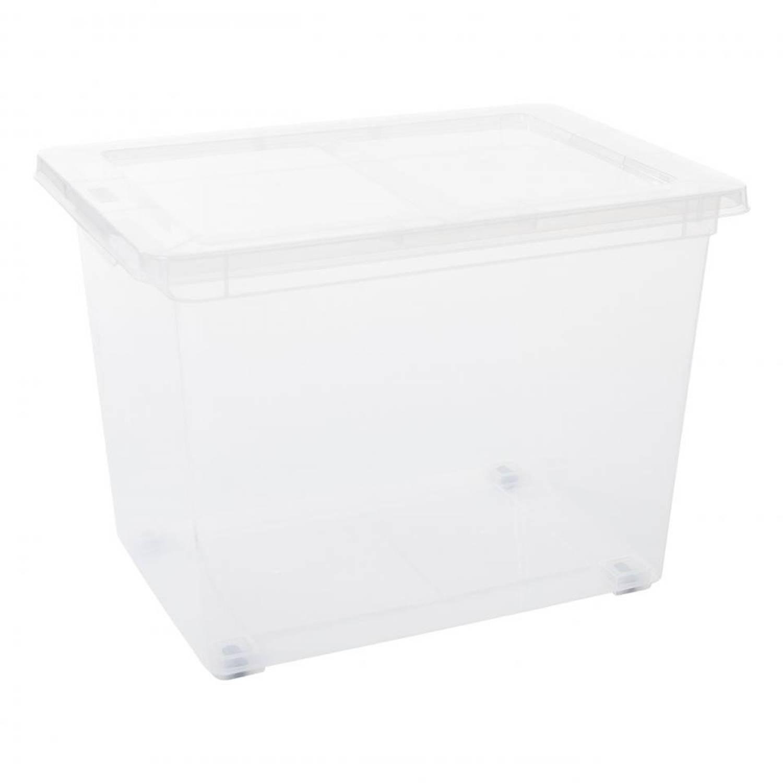 Blokker opbergbox met deksel - 60 l