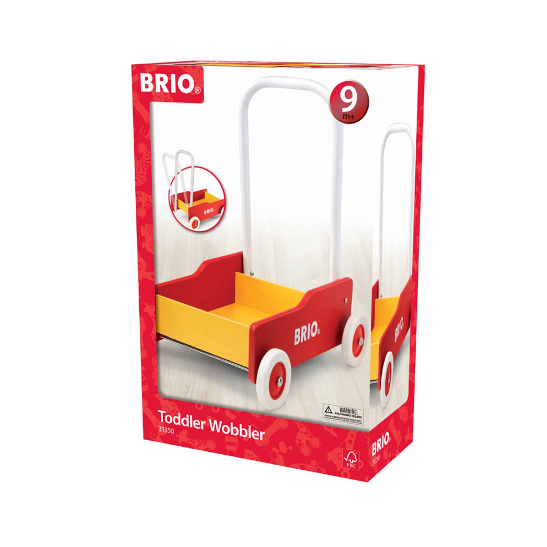 BRIO Toddler Wobbler, red (31350)