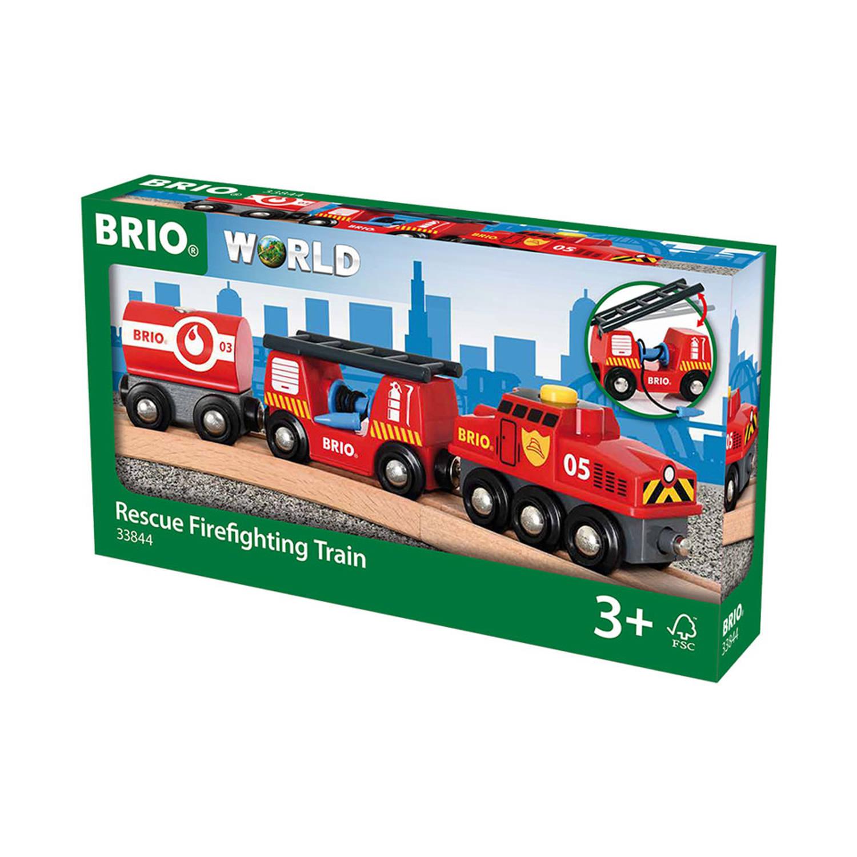 Brio Brandweertrein 33844